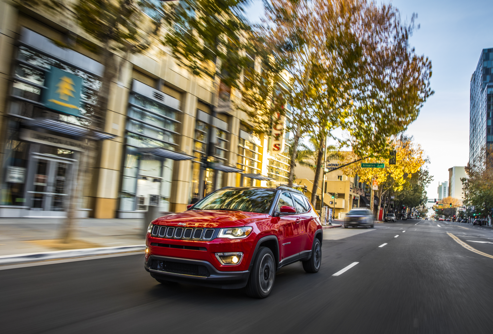 2021 Jeep Compass Limited Firecracker Red City LaFontaine CDJR of Saline