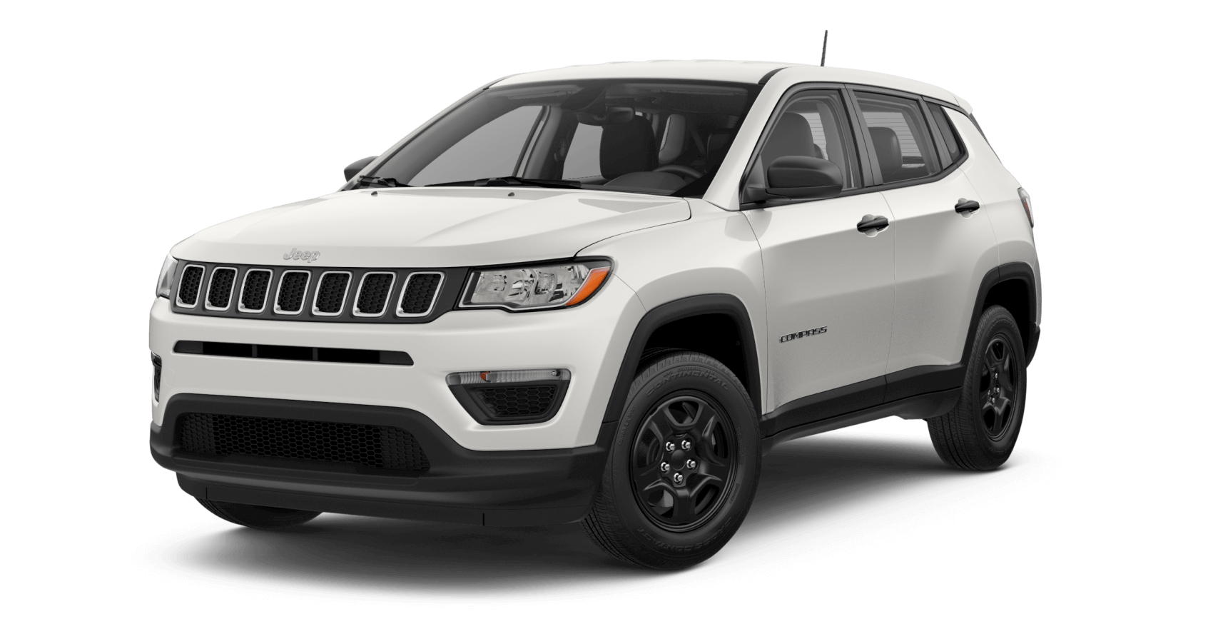 2021 Jeep Compass Sport White LaFontaine CDJR of Saline