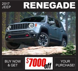 Shop New 2017 Jeep Renegade Inventory Huntsville AL