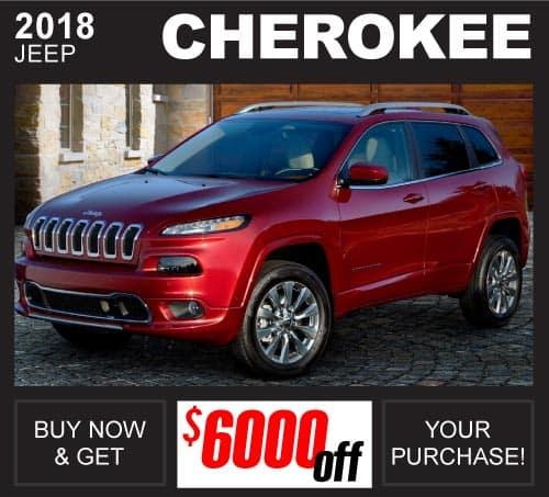 Shop New Jeep Cherokee Inventory Huntsville AL