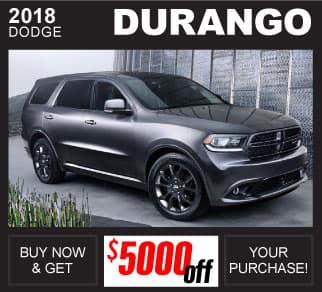 Shop 2018 Dodge Durango Inventory Huntsville AL
