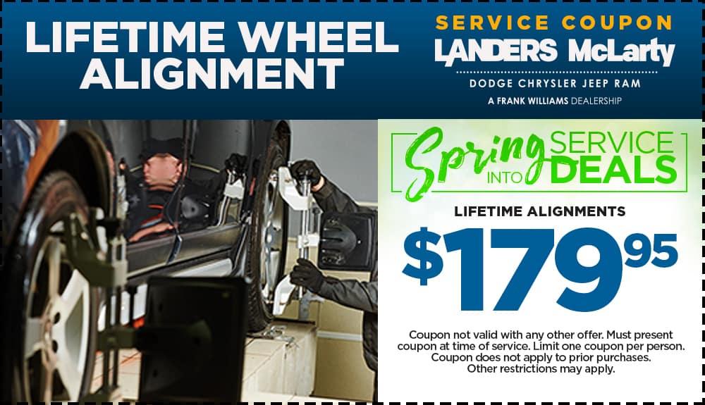 Lifetime Wheel Alignment