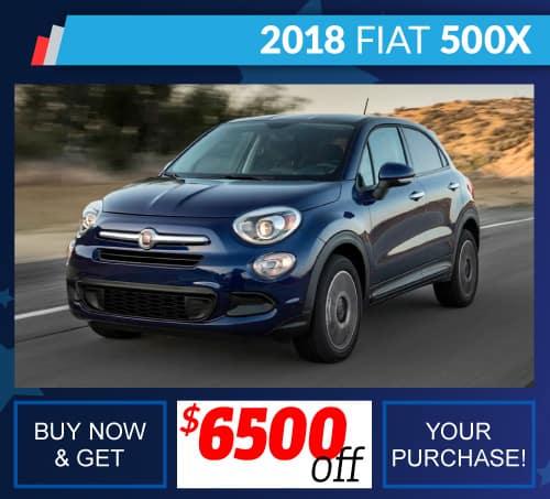 Shop New Fiat 500X Inventory Huntsville AL