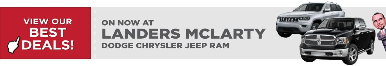 Shop our Best Deals at Landers McLarty Dodge Chrysler Jeep Ram in Huntsville AL
