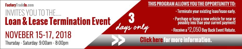 loan/lease termination event