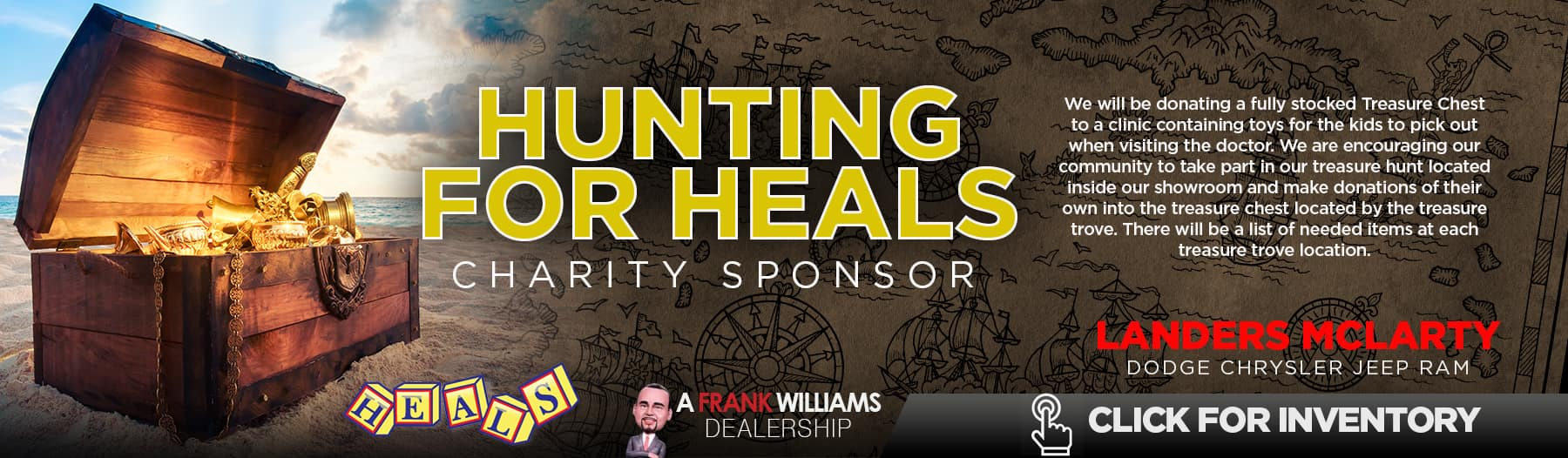Hunting for heals