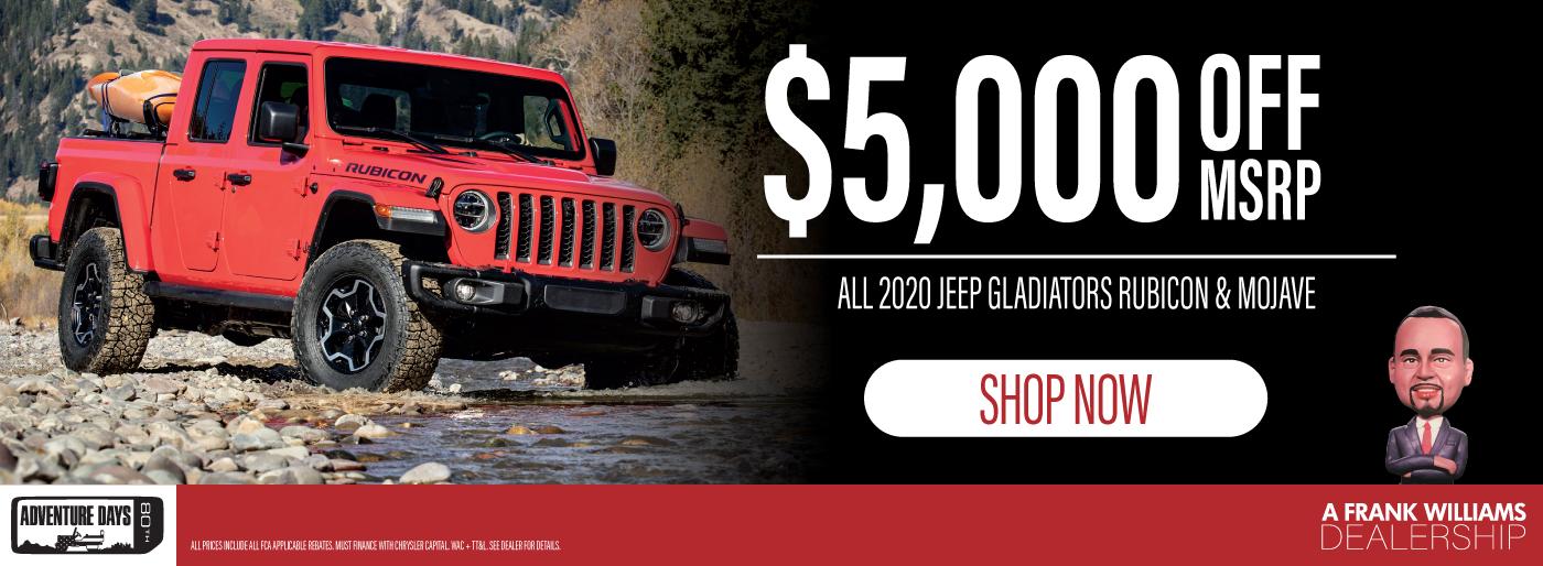 2020 jeep gladiator huntsville al