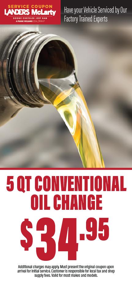 oil change coupon huntsville al