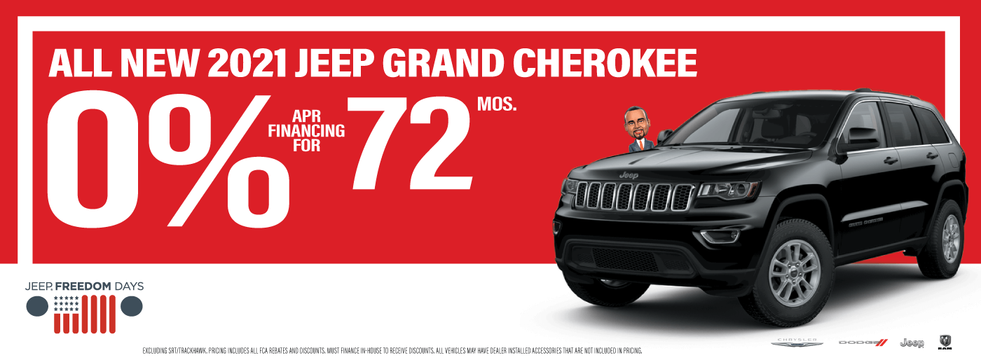 2021 jeep grand cherokee website banner