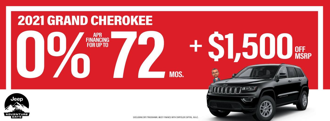LMCDJ-10219 Web Slides – Jeep Financing and Discounts 01_Grand Cherokee