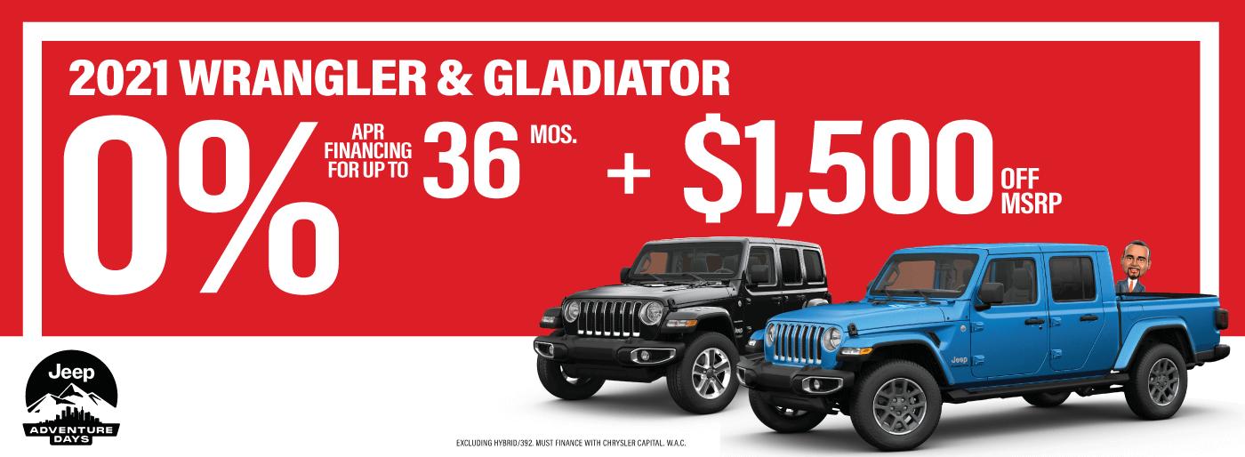 LMCDJ-10219 Web Slides – Jeep Financing and Discounts 01_Wrangler _ Gladiator