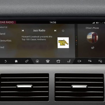 2017 Land Rover Discovery Sport infotainment