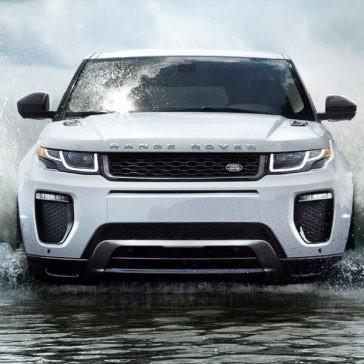 2017 Land Rover Range Rover Evoque Exterior front