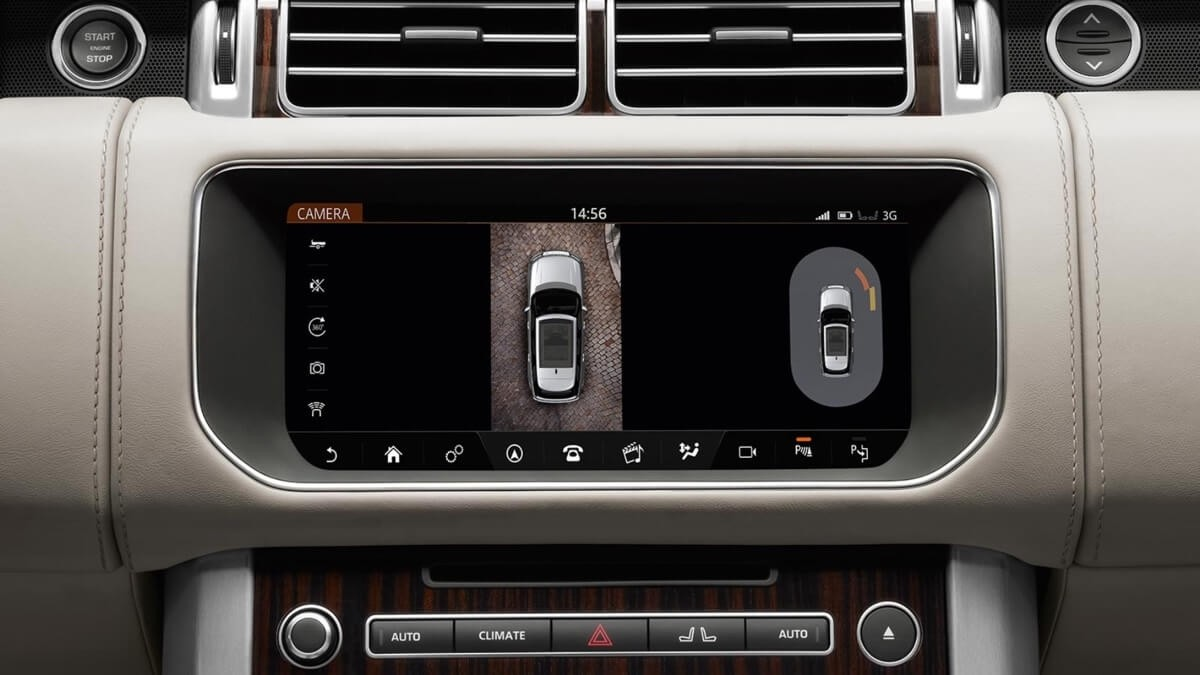 2017 Land Rover Range Rover infotainment