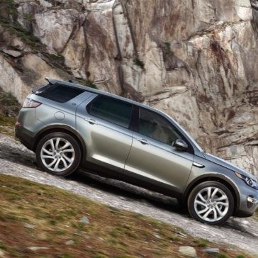 2017 Land Rover Discovery Sport terrain