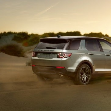 2017 Land Rover Discovery Sport rear exterior