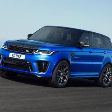 2018 Land Rover Range Rover Sport on road