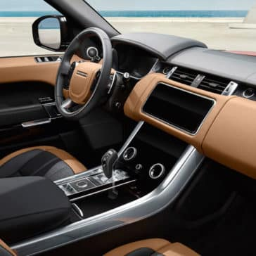 2018 Land Rover Range Rover Sport interior dash