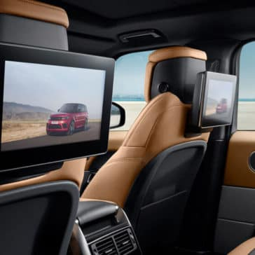 2018 Land Rover Range Rover Sport rear seat entertainment