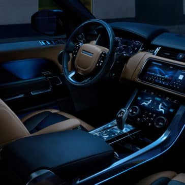 2018 Land Rover Range Rover Sport ambient interior lighting