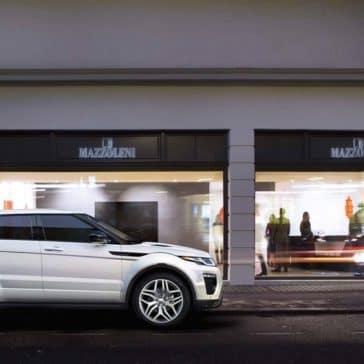 2018 Land Rover Range Rover Evoque Parked