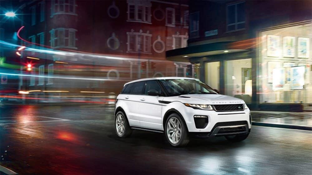 2018 Land Rover Range Rover Evoque White