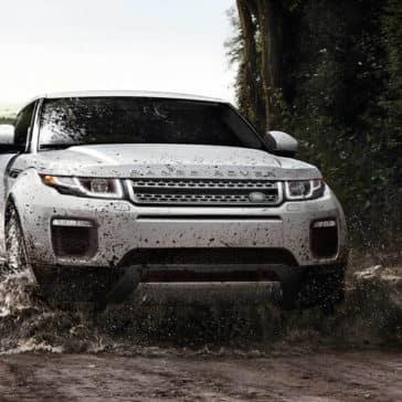 2018 Land Rover Range Rover Evoque Muddy