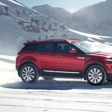 2018 Land Rover Range Rover Evoque In Snow