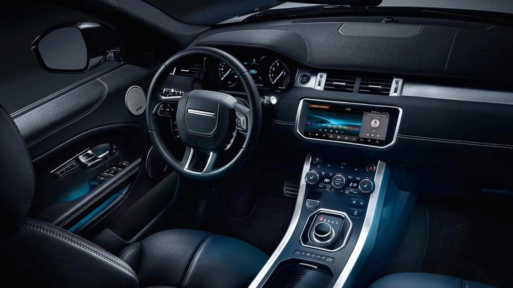 2018 Land Rover Range Rover Evoque Dash