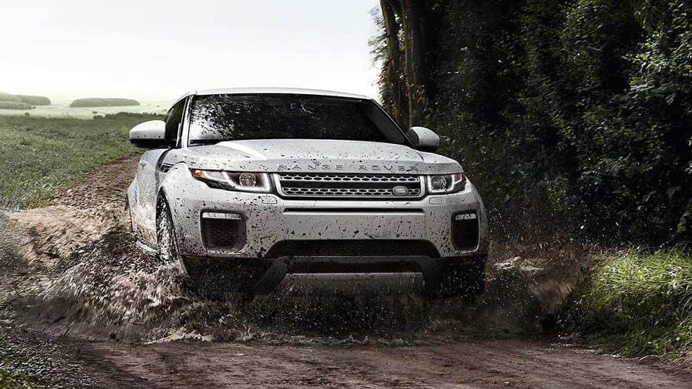 2019 Range Rover Evoque Muddy