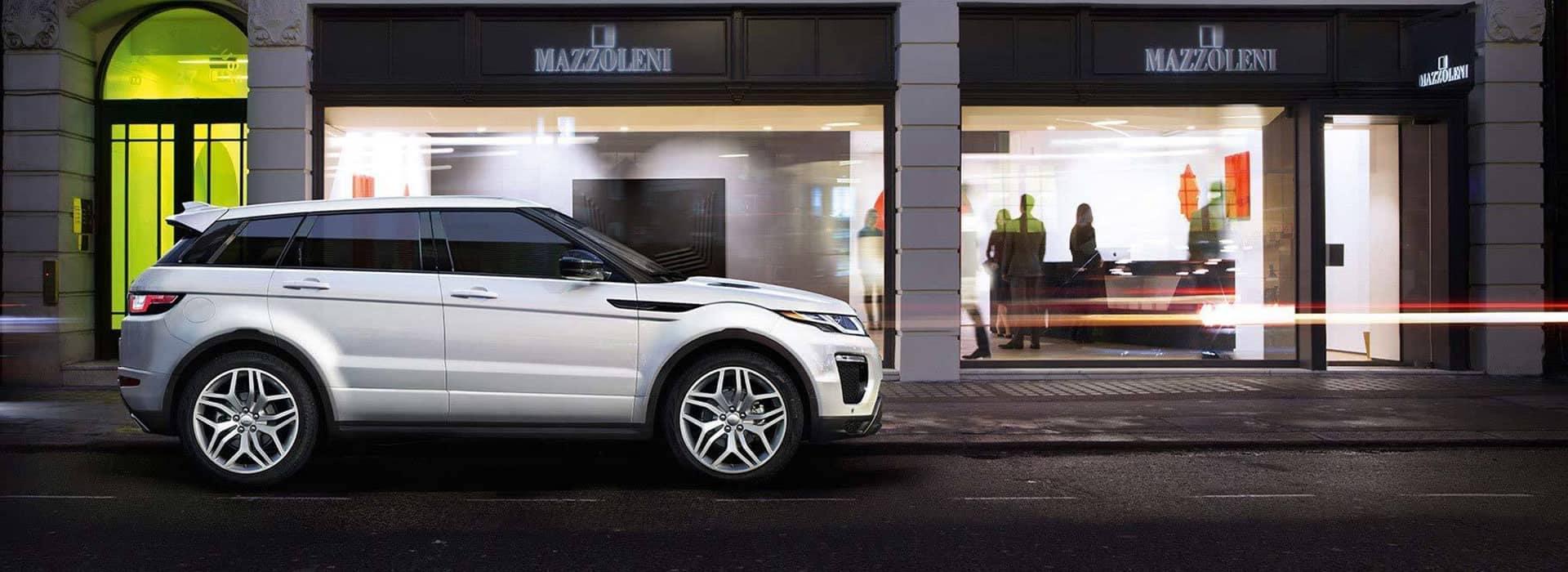 2019 Range Rover Evoque White