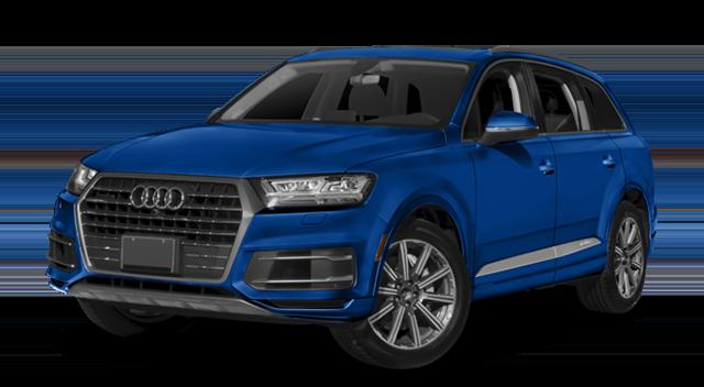 2018 Audi Q7 Blue