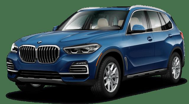 2019 BMW X5 Blue