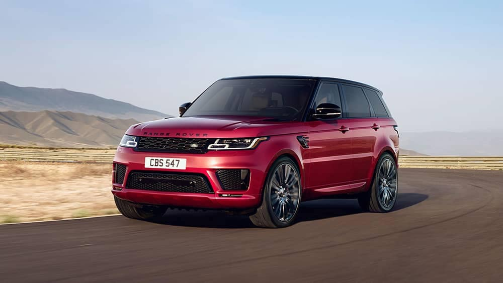 2019 Range Rover Sport Red