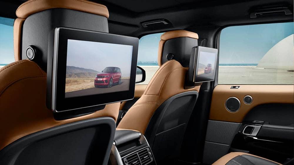 2019 Range Rover Sport Rear Entertainment