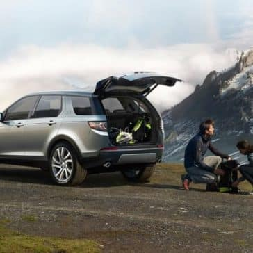 2019 Land Rover Discovery Sport In Mountains