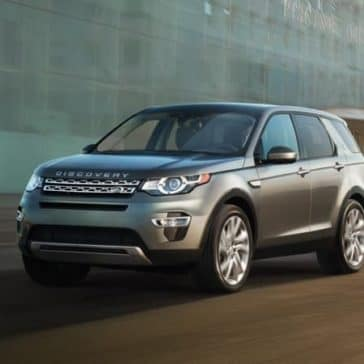 2019 Land Rover Discovery Sport Parked