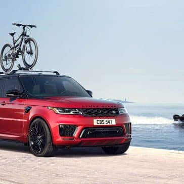 2019 Land Rover Range Rover SportWith Bike
