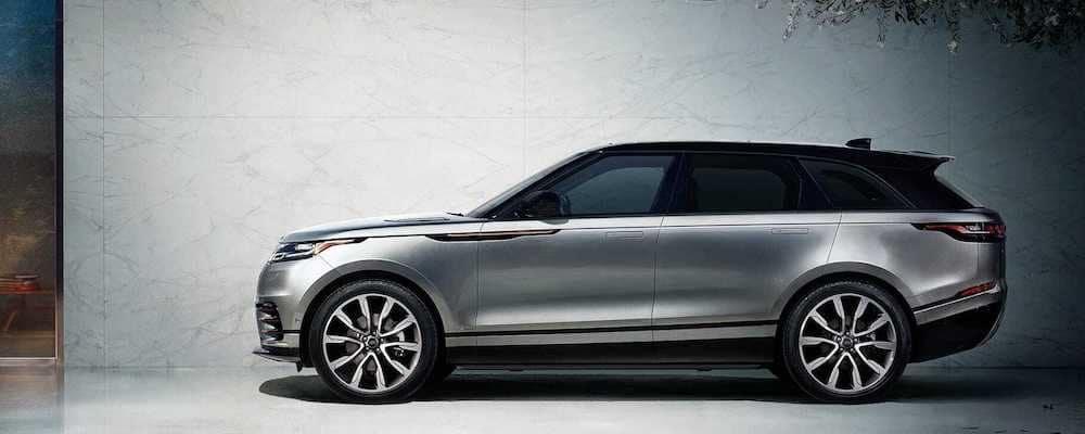 2019 Range Rover Velar silver exterior view of profile