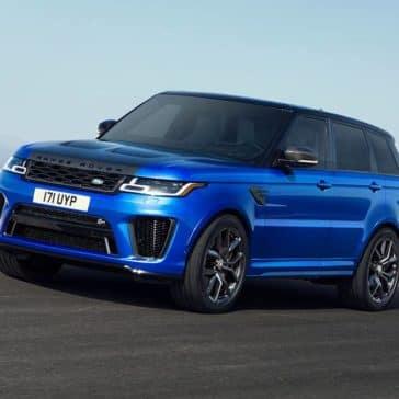 2020 Land Rover Range Rover Sport SVR Driving