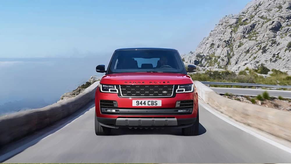 2020 Range Rover Grill