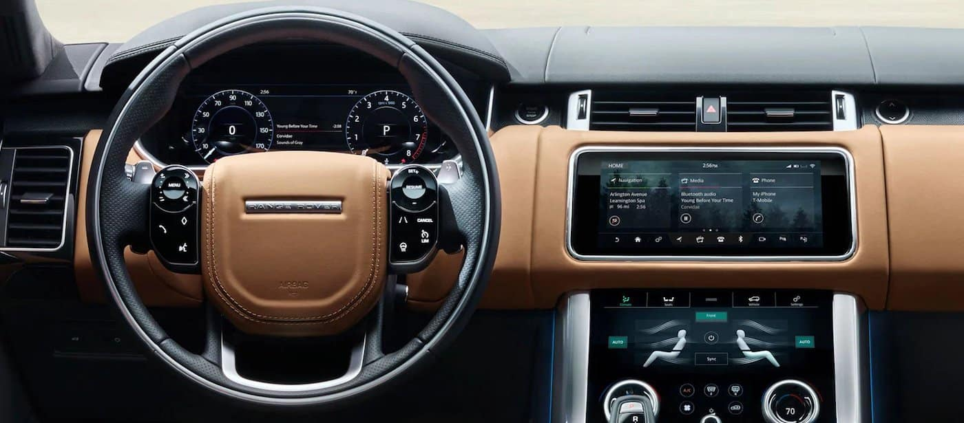 Land Rover Dash