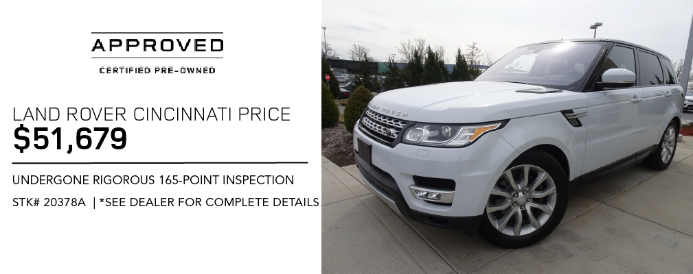 Certified Pre-Owned 2017 Land Rover Range Rover Sport HSE With Navigation & 4WD