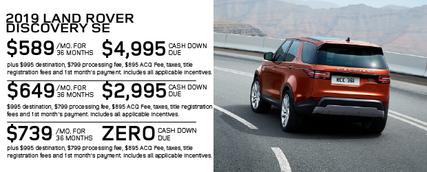 New 2019 Land Rover Discovery SE 4WD For Sale