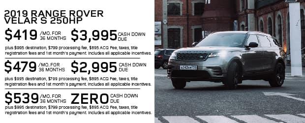 New 2019 Land Rover Range Rover Velar P250 S 4WD For Sale