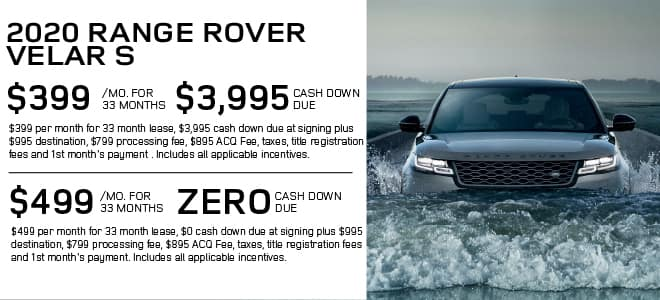 New 2020 Land Rover Range Rover Velar P250 S With Navigation & 4WD For Sale