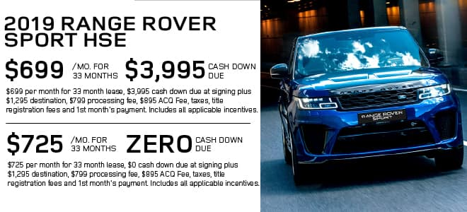 Pre-Owned 2019 Land Rover Range Rover Sport HSE With Navigation & 4WD For Sale