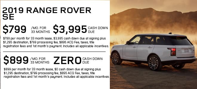 New 2019 Land Rover Range Rover 3.0L V6 Supercharged With Navigation & 4WD For Sale