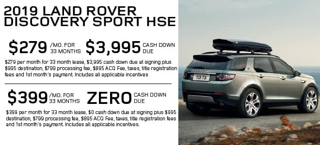 Certified Pre-Owned 2019 Land Rover Discovery Sport HSE 4WD For Sale