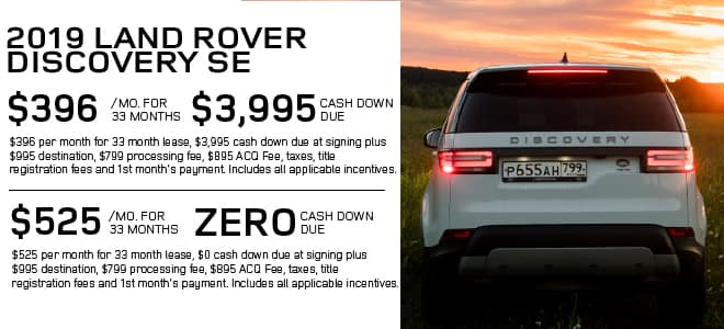Certified Pre-Owned 2019 Land Rover Discovery SE With Navigation & 4WD For Sale